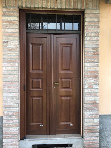 Portoncini di ingresso sala baganza pr portoncini in - Portoncini ingresso legno alluminio prezzi ...
